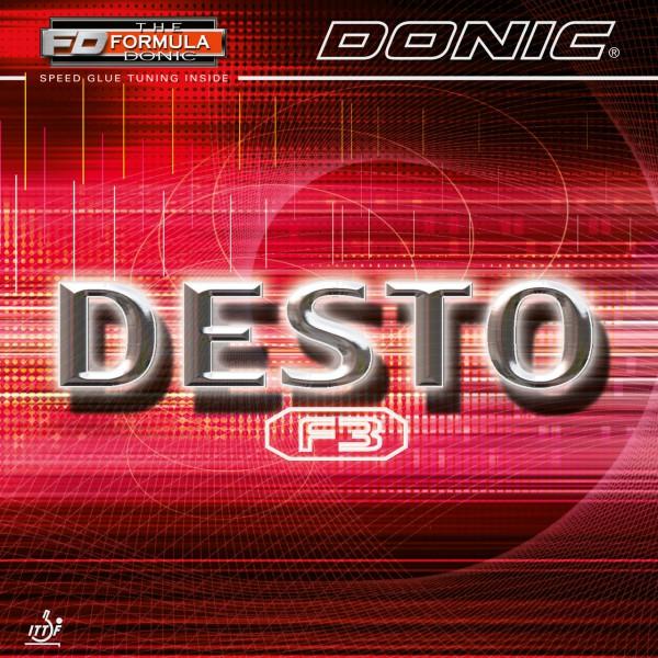 Tischtennis Belag DONIC Desto F3 Cover