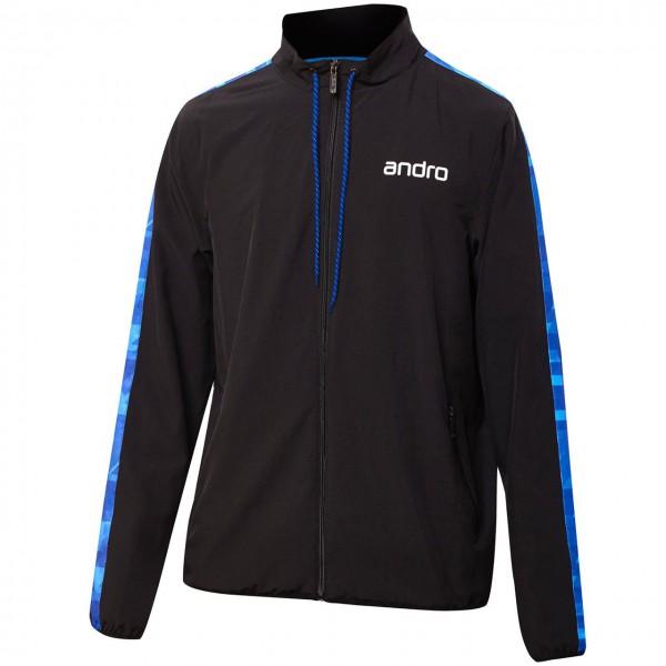 Andro Anzugjacke Lennox schwarz-blau Brust