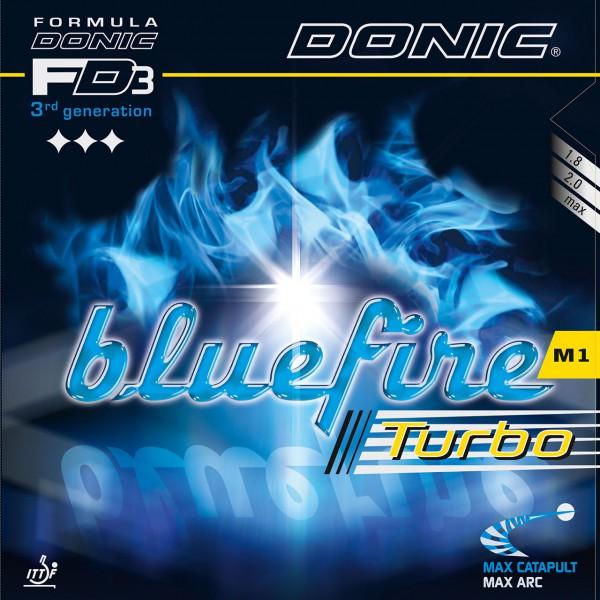 Tischtennis Belag DONIC Bluefire M1 Turbo Cover