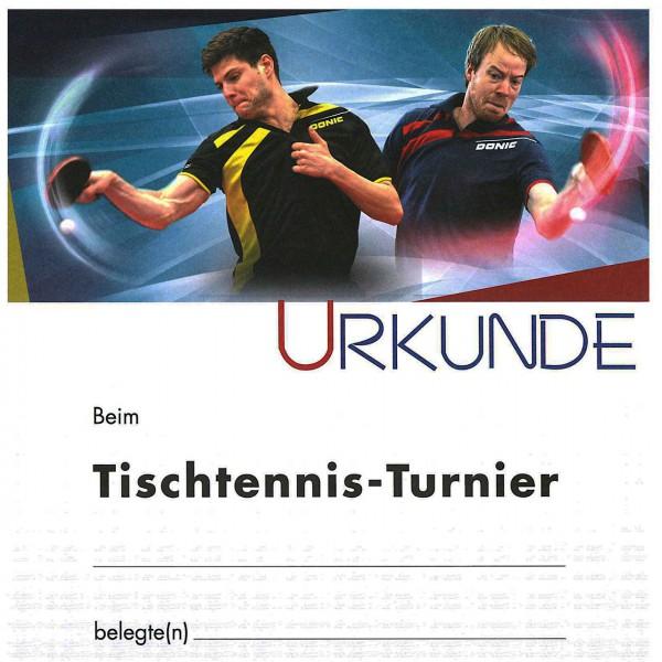 Urkunde Motiv Ovtcharov/Baum TT-Turnier
