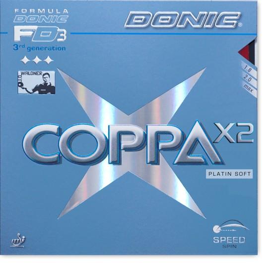 DONIC Coppa X2 (Platin Soft)