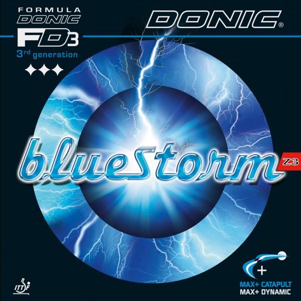 Tischtennis Belag DONIC Bluestorm Z3 Cover