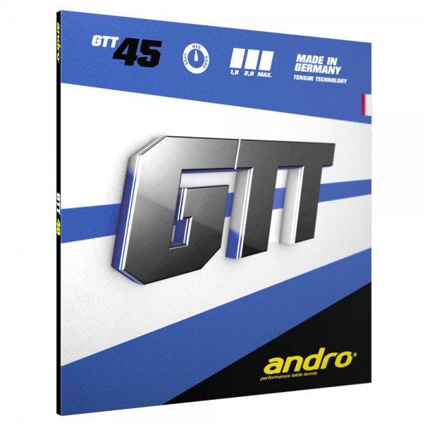 Tischtennis Belag andro GTT 45 Cover