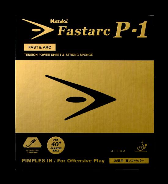 Tischtennis Belag Nittaku Fastarc P-1 Cover