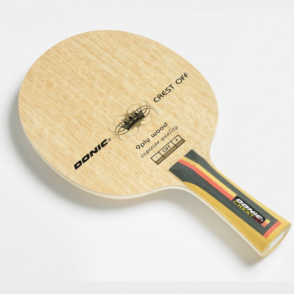 Tischtennis Holz DONIC Crest OFF