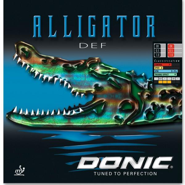 Tischtennis Belag DONIC Alligator DEF Cover