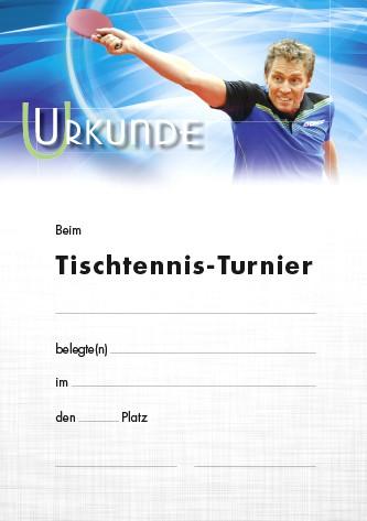 Urkunde Motiv Persson TT-Turnier