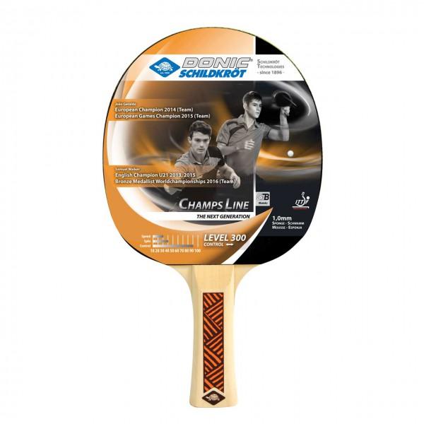 Hobby Tischtennisschläger DONIC Champs 300