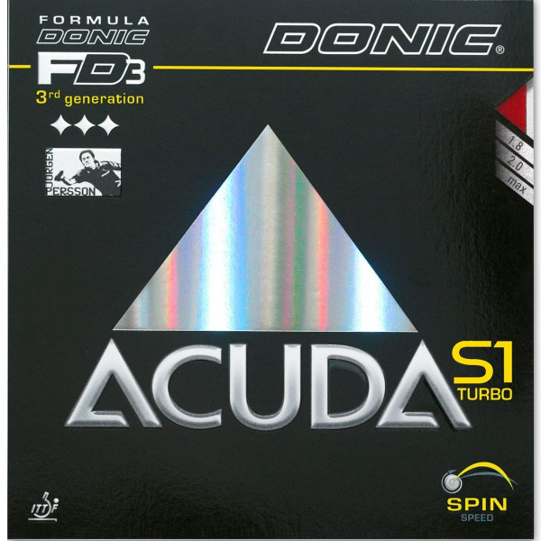 DONIC Belag Acuda S1 Turbo