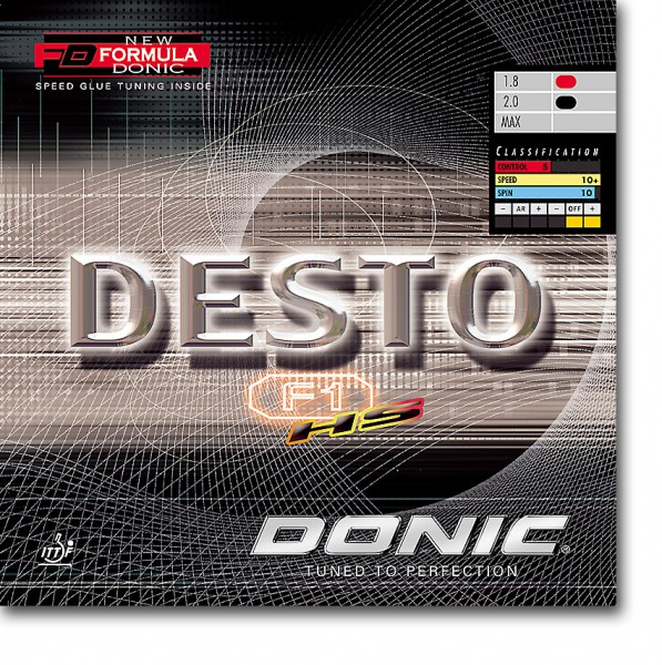 "DONIC ""Desto F1 HS"""