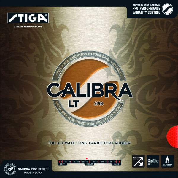 Tischtennis Belag Stiga Calibra LT Spin Cover