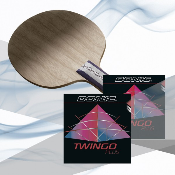Tischtennis Komplettschläger DONIC Persson Exclusive Off / Twingo Plus