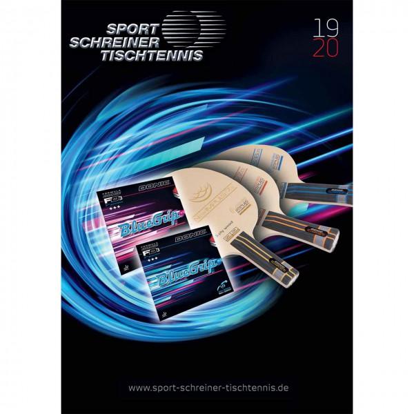 Sport Schreiner Tischtennis Katalog 2019 | 20120