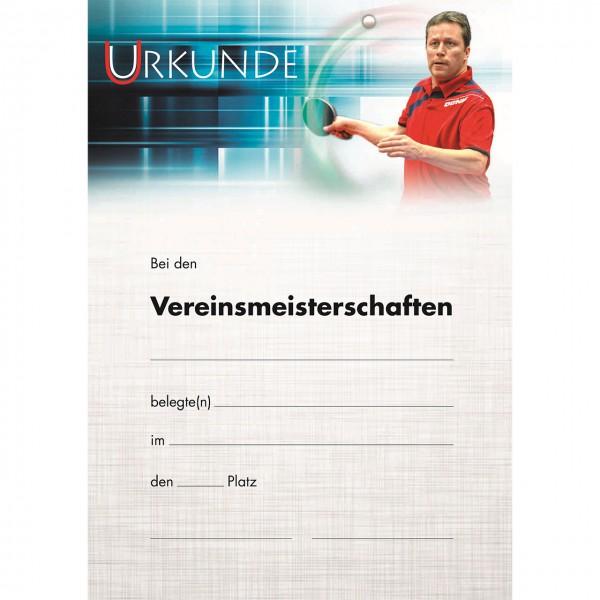 Urkunde Motiv J.O. Waldner VM